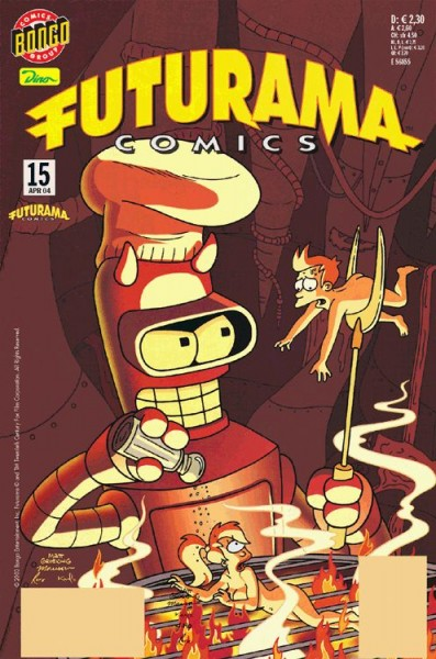 Futurama Comics 15