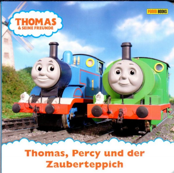 Thomas und seine Freunde - Pappbilderbuch 2: Thomas, Percy und der Zauberteppich