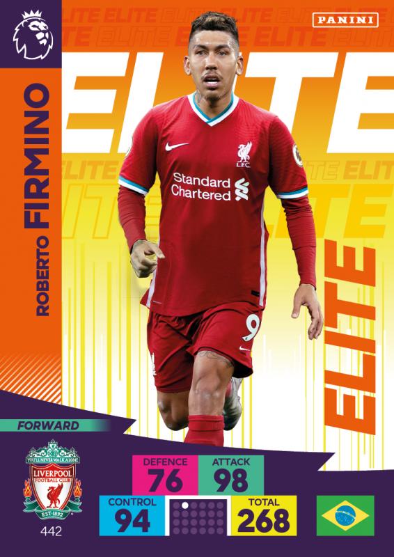 Panini Premier League Adrenalyn XL 2020/21 - Elite - Roberto Firmino