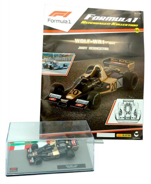 Formula 1 Rennwagen-Kollektion 66: Jodie Scheckter (Wolf WR1)