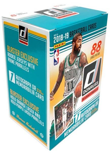 NBA 2018-2019 DONRUSS Trading Cards - Blasterbox