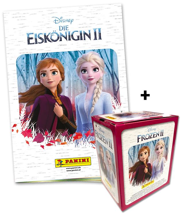 Disney: Die Eiskönigin 2 - Sticker und Trading Cards - Eiskönigin-Bundle