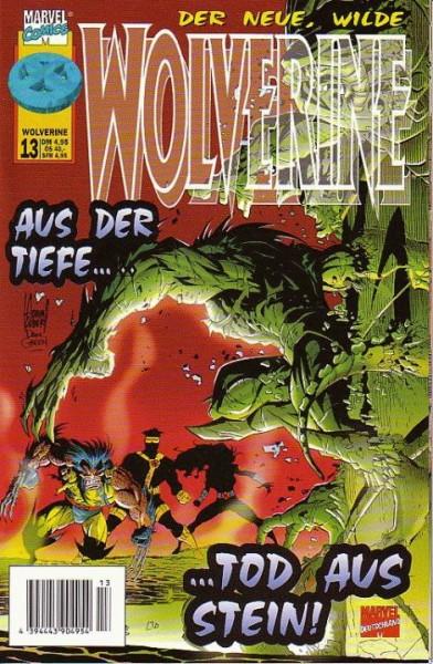 Wolverine 13 - Aus der Tiefe...Tod aus Stein!