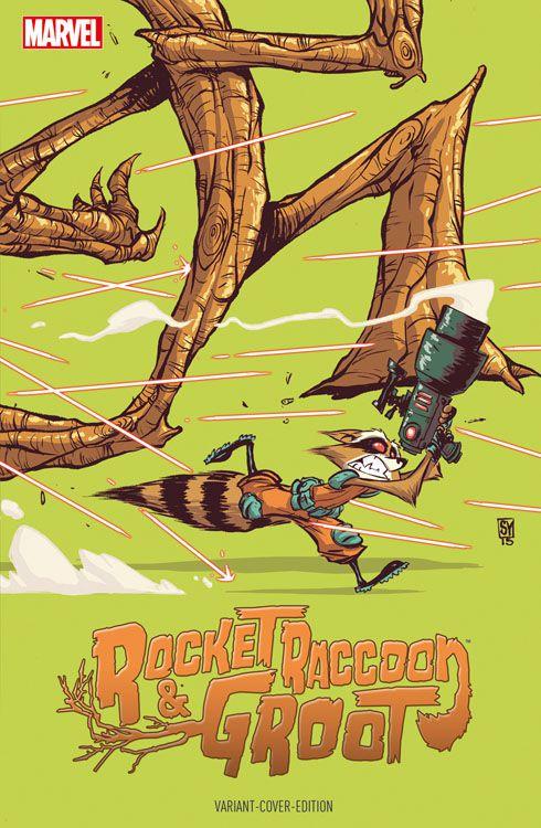 Rocket Raccoon & Groot 1 Variant