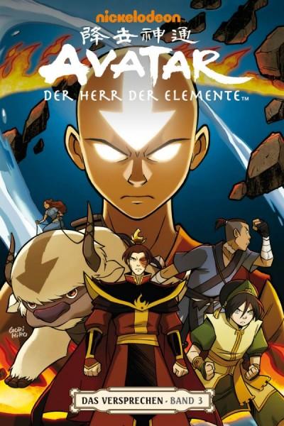 Avatar - Der Herr der Elemente 3: Das Versprechen 3 - Cover