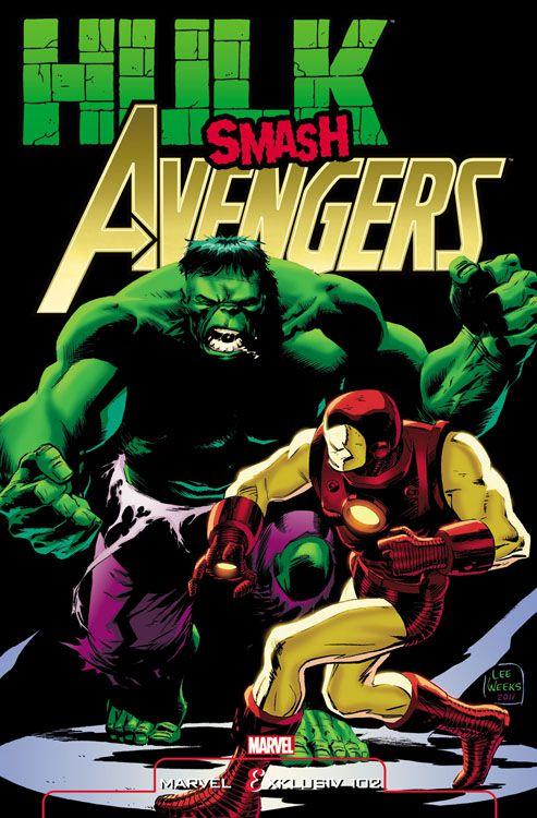 Marvel Exklusiv 102: Hulk Smash Avengers