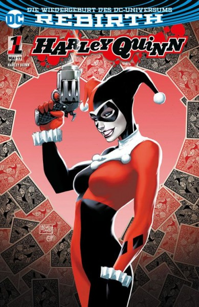 Harley Quinn 1: Zombie-Attacke Variant