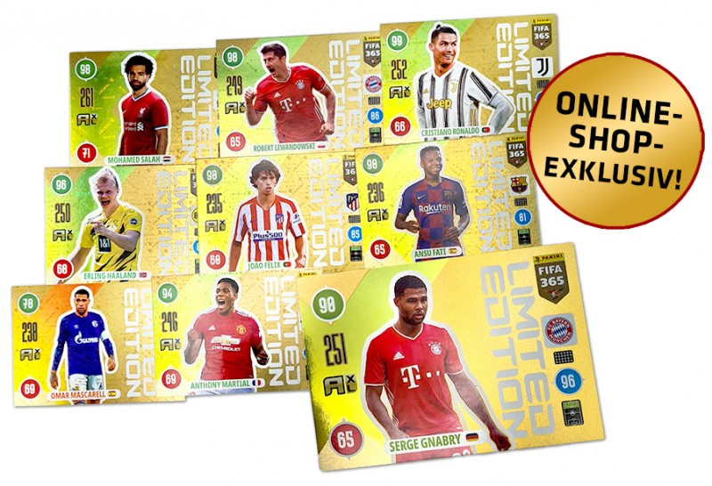 Panini FIFA 365 Adrenalyn XL 2021 - Limited Edition Cards