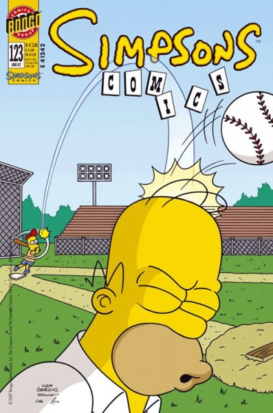 Simpsons Comics 123