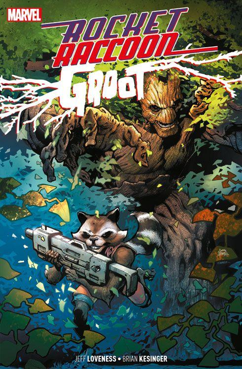 Rocket Raccoon & Groot