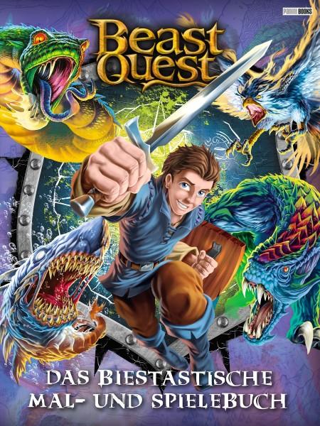 Beast Quest - Mal- und Rätselbuch