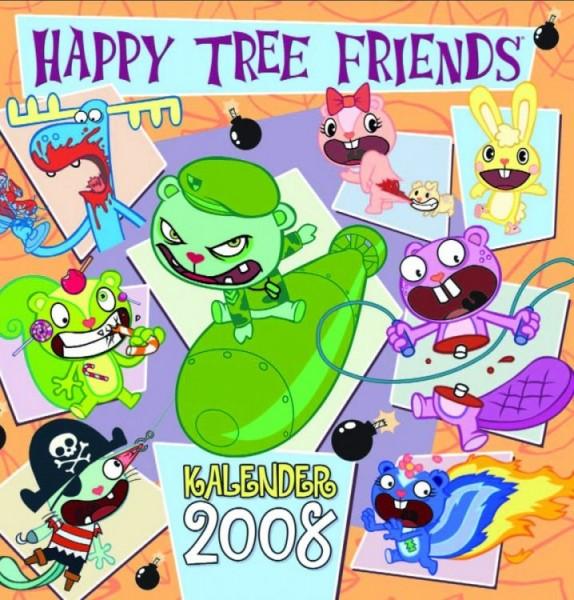 Happy Tree Friends - Wandkalender (2008)