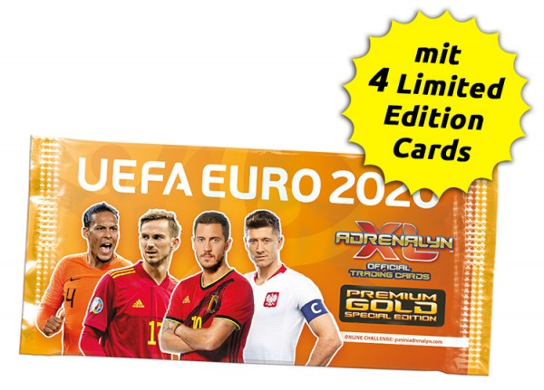 UEFA Euro 2020 Adrenalyn XL - Premium Gold Pack