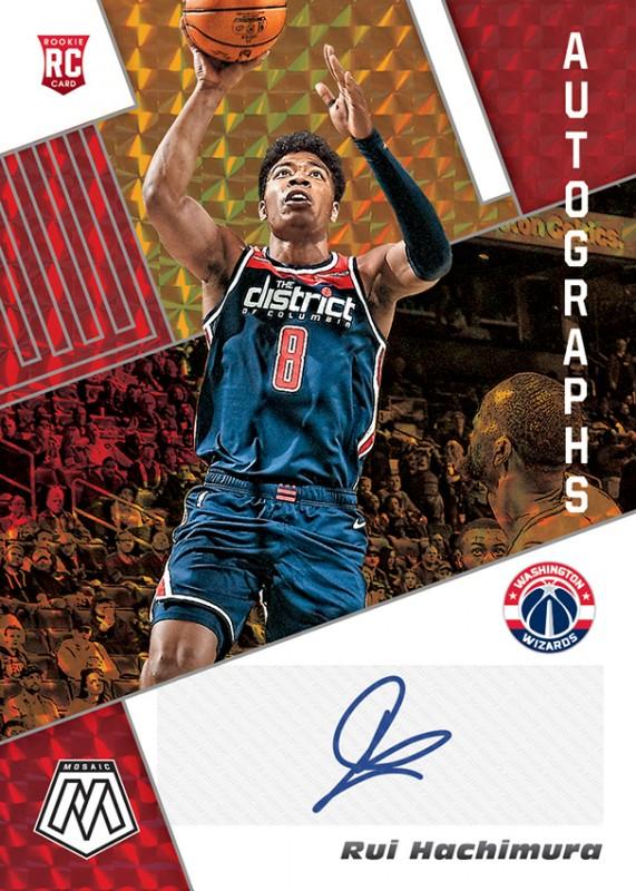NBA Basketball Mosaic Trading Cards 2019/20 - Rui Hachimura