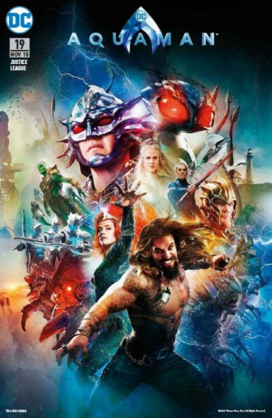 Justice League 19 (2017) Comic Action Essen 2018 Aquaman-Movie-Variant