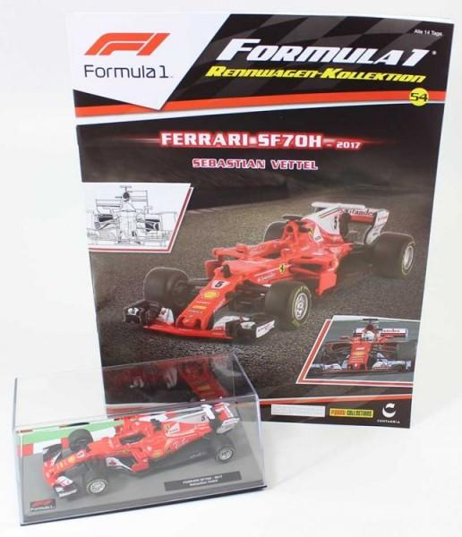 Formula 1 Rennwagen-Kollektion 54: Sebastian Vettel (Ferrari SF70H)