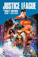 Justice League von Scott Snyder 1 Deluxe Edition Cover