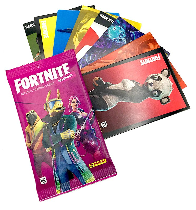Fortnite Reloaded Trading Cards - Beispiel Trading Cards