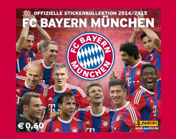 Bayern München Sticker-Kollektion 2014/15 - Tüte