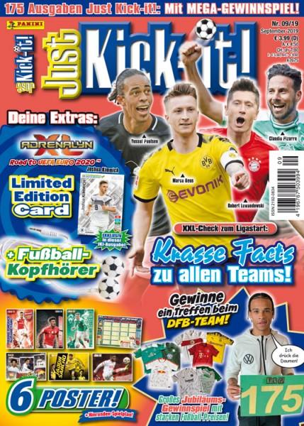 Just Kick-it! Magazin 09/19