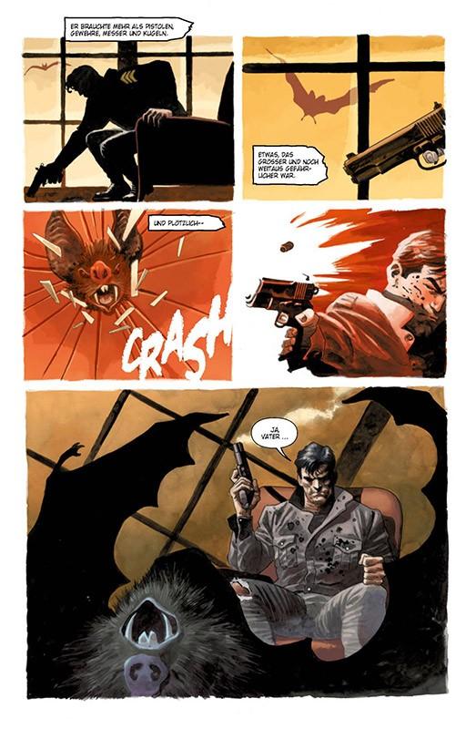 Der Batman, der lacht Blick in den Comic Vorschauseite 3