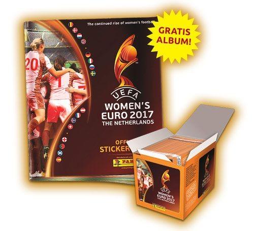 UEFA Women's Euro 2017 Stickerkollektion zur Fußball Europameisterschaft der Frauen - Bundle 1