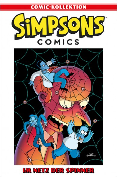 Simpsons Comic-Kollektion 52: Im Netz der Spinner Cover
