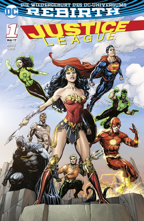 Justice League 1 (2017) Variant A
