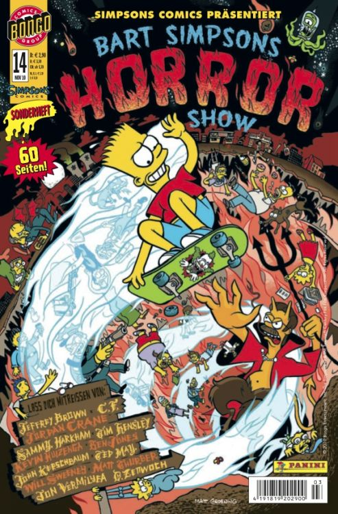 Bart Simpsons Horror Show 14