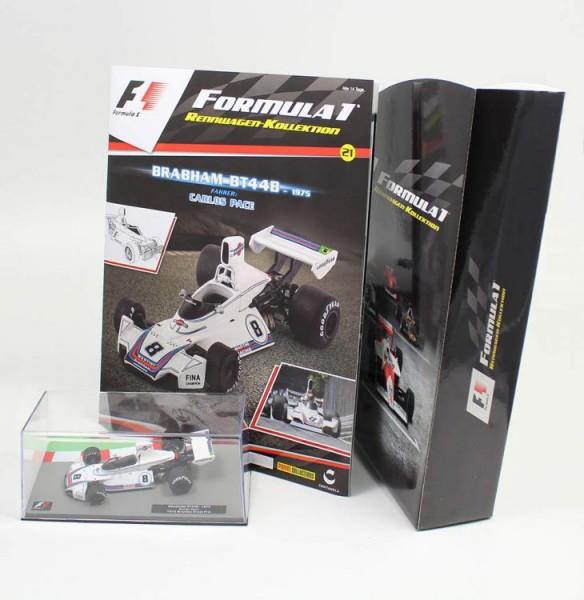 Formula 1 Rennwagen-Kollektion 21: Carlos Pace (Brabham Bt 44 B)