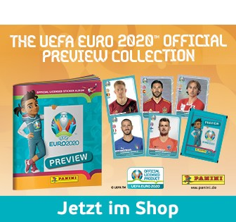 The Uefa Euro 2020 Official Preview Collection – jetzt im Shop