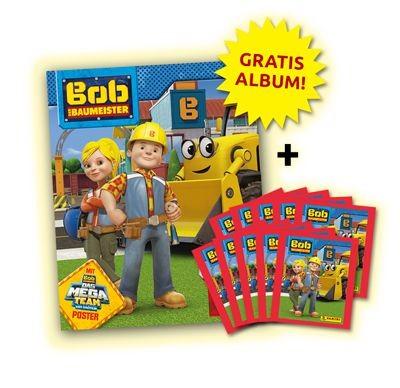 Bob der Baumeister Stickerkollektion - Bundle 2