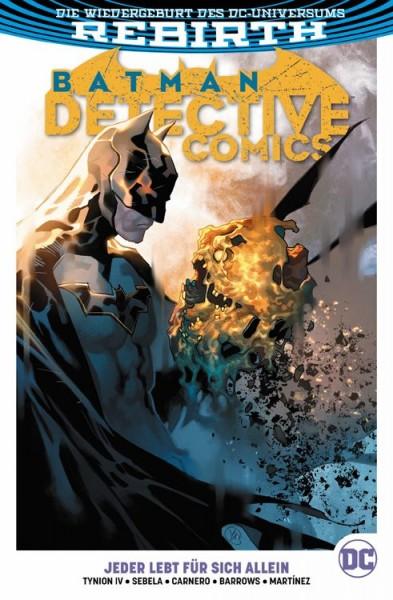 Batman Detective Comics Paperback 5: Jeder lebt für sich allein Cover