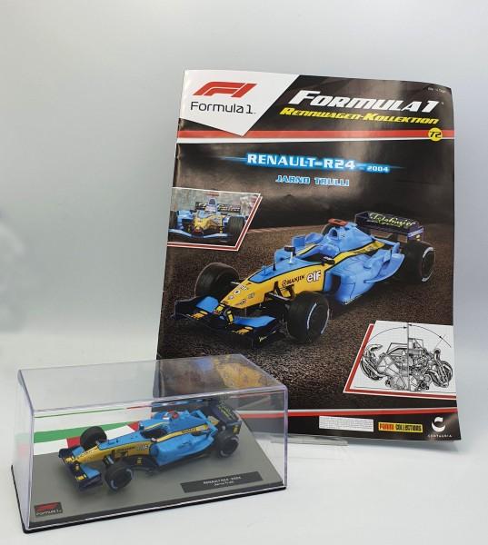 Formula 1 Rennwagen-Kollektion 72: Jarno Trulli (Renault R24)