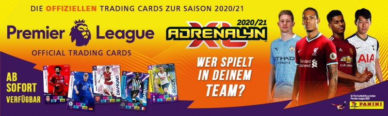 Panini Premier League Adrenalyn XL 2020/21 - Banner