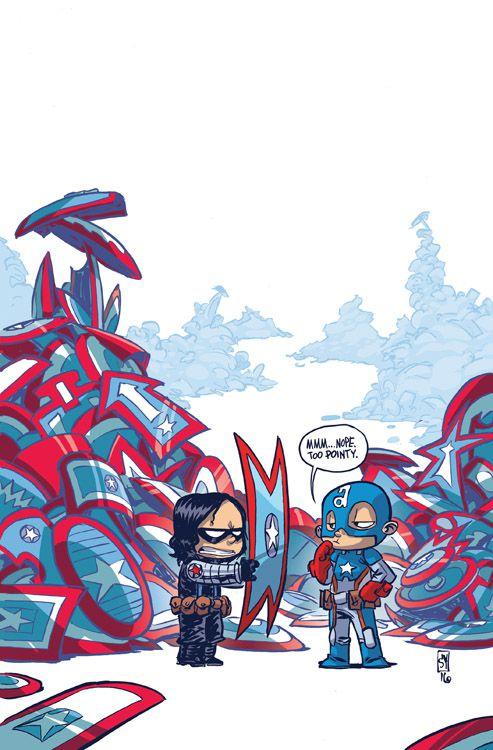 Captain America: Steve Rogers 1 Variant