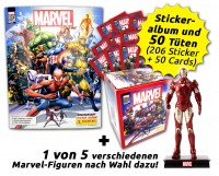80 Jahre Marvel Sammelkollektion - Ultimate Collector's Bundle mit Figur Inhalt