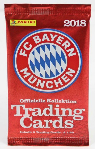 FC Bayern München 2018 - Trading Cards Kollektion - Tüte