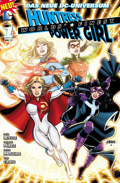 Worlds' Finest: Huntress & Power Girl 1