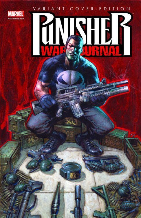 Punisher War Journal 4 Variant