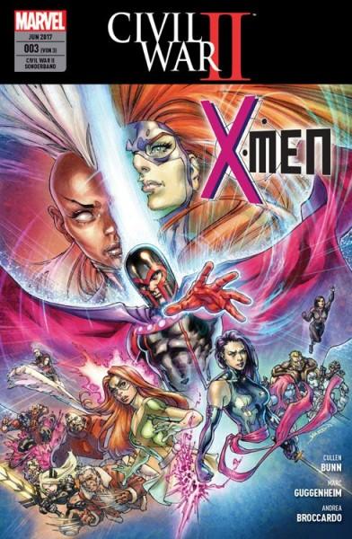 Civil War II Sonderband 3: X-Men
