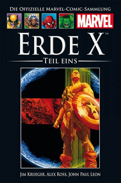 Hachette Marvel Collection 188: Erde X, Teil 1 Cover