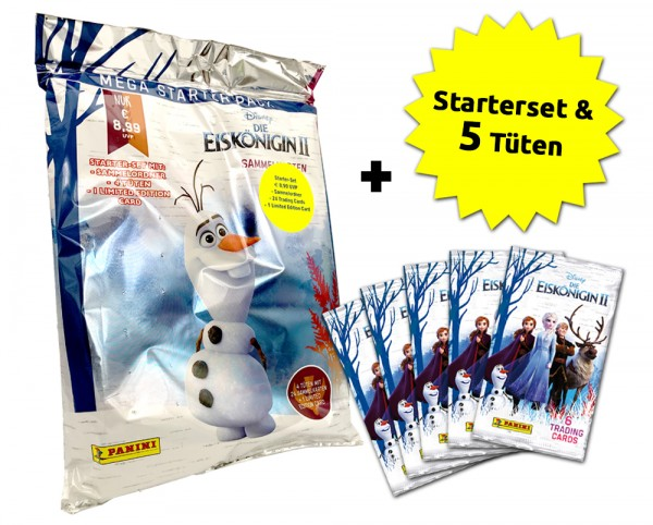 Disney: Die Eiskönigin 2 - Trading Cards - Schnupperbundle