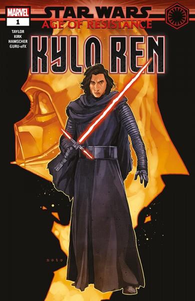 Star Wars 65: Das dunkle Herz der Sith 1 & Age of Resistance - Kylo Ren - Kiosk-Ausgabe Cover