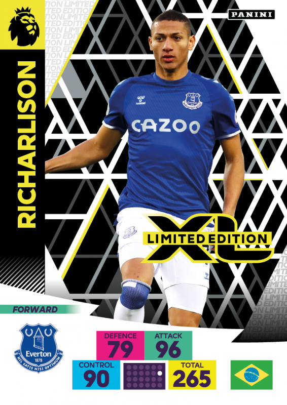 Panini Premier League Adrenalyn XL 2020/21 - Limited Edition Card - Richarlison