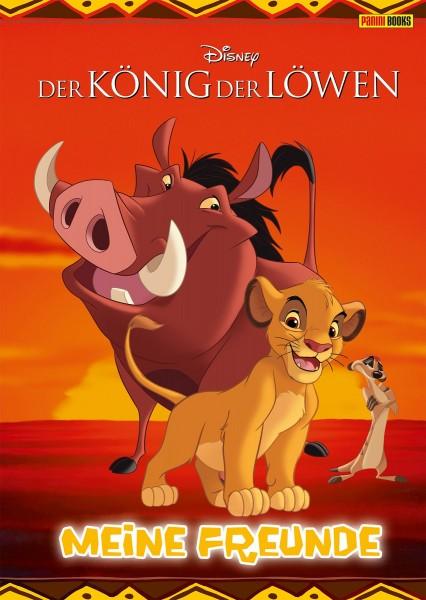 Disney - König der Löwen - Meine Freunde Freundebuch Cover