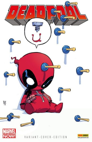 Wolverine/Deadpool 4 - Deadpool Marvel-Baby Variant - Comic Action 2013