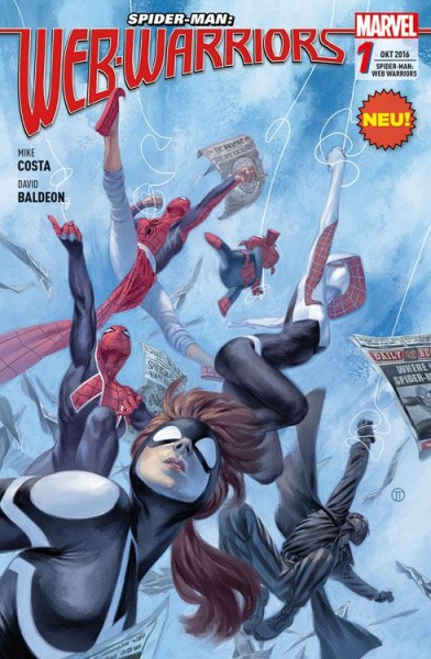 Spider-Man: Web-Warriors 1