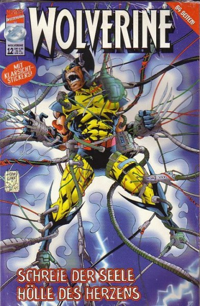 Wolverine 12 - Schreie der Seele Hoelle des Herzens