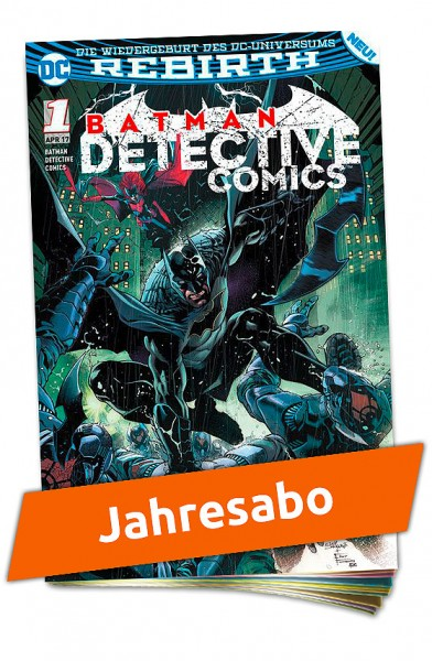 Jahresabo - Batman Detective Comics Heft